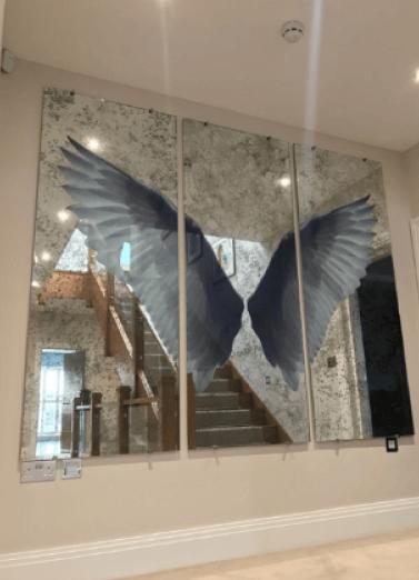 Angel Wings - Triptych Layout