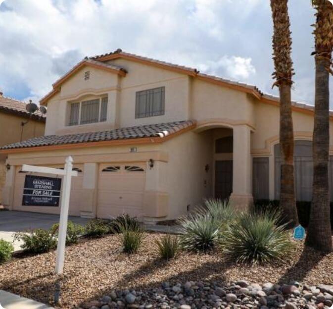 Residential Area in Las Vegas