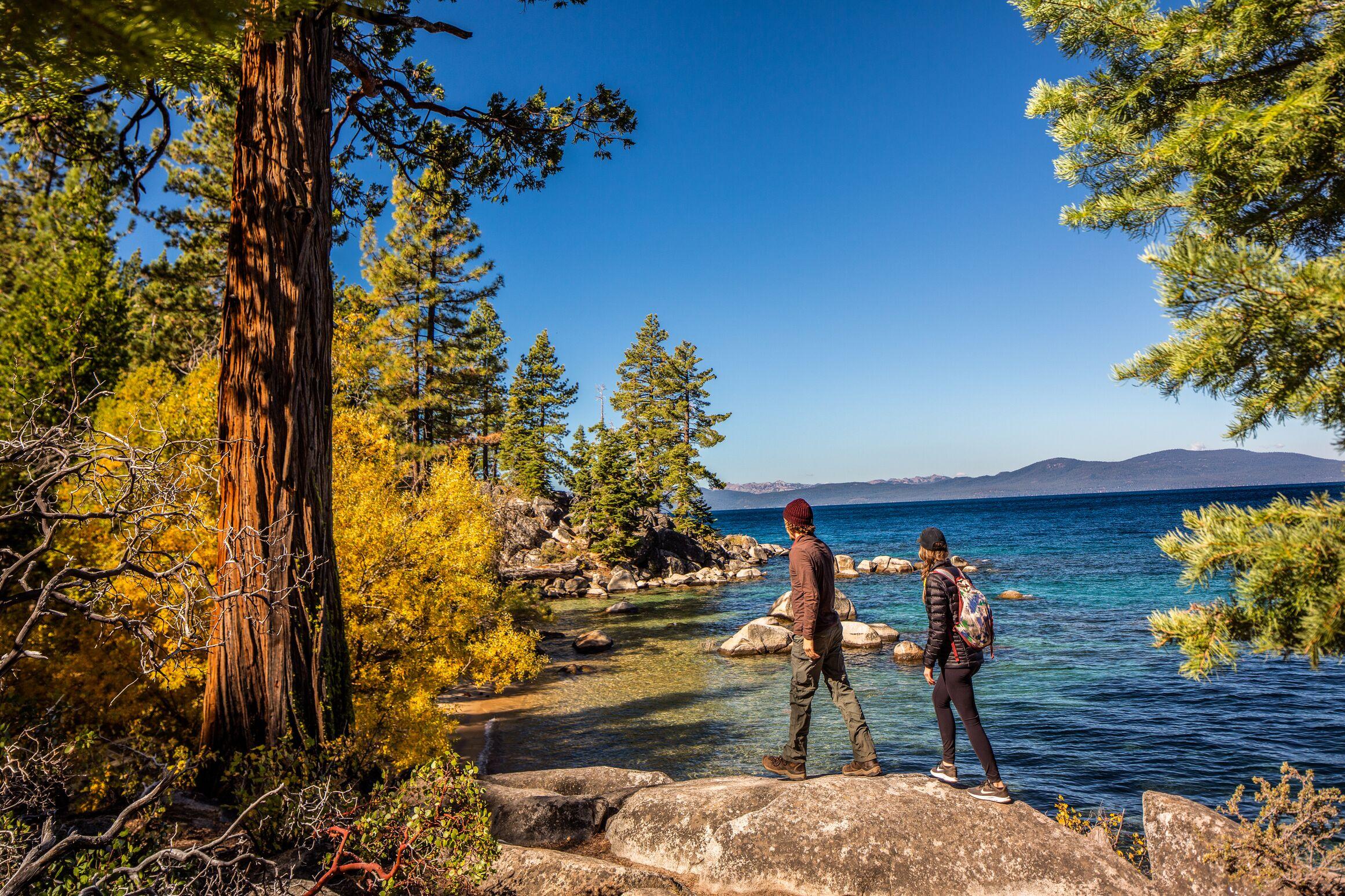 One of Carson city's beauty, Lake Tahoe.