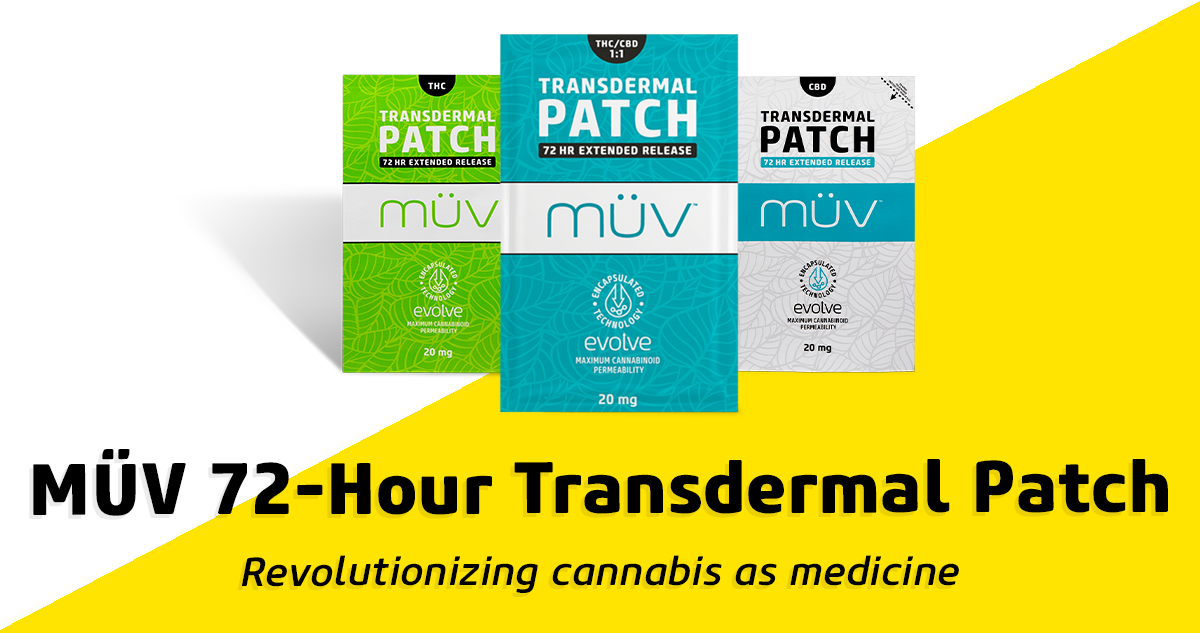 MÜV Transdermal Patch: Extended-Release Relief