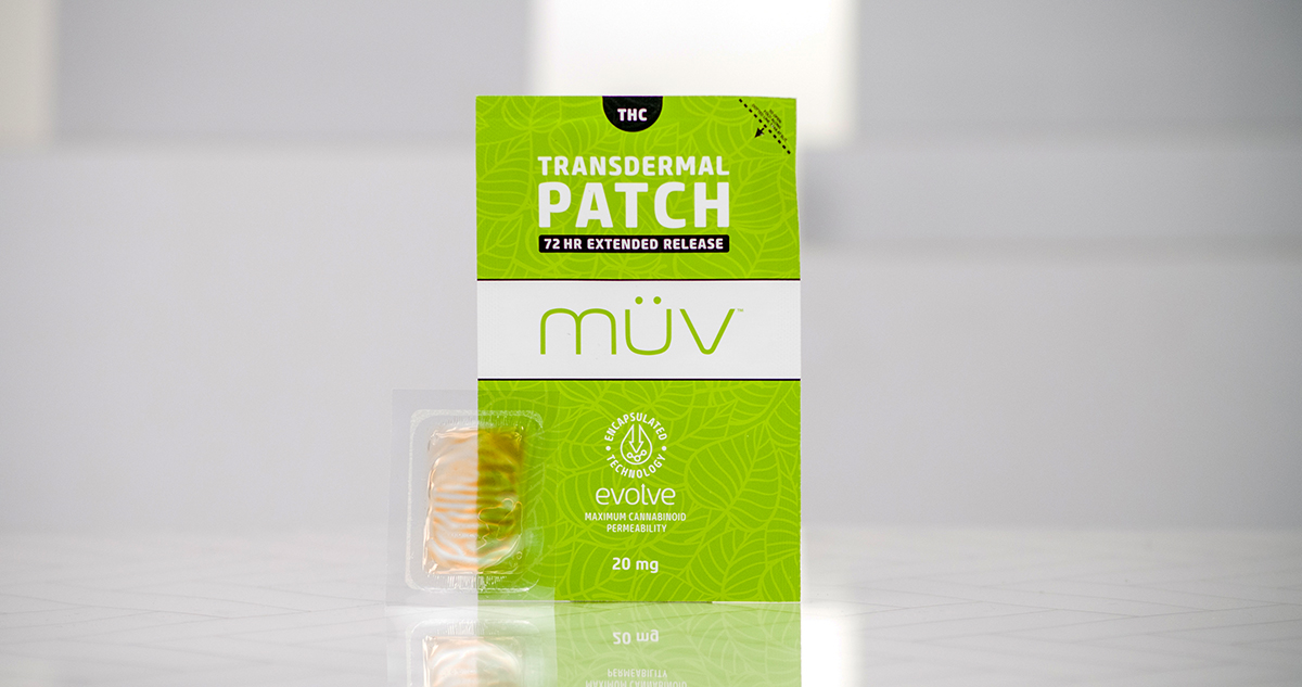The 72-Hour THC Transdermal Patch From MÜV