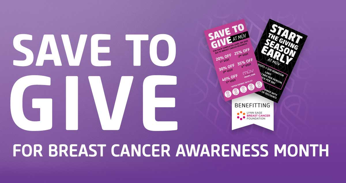 Save To Give For Breast Cancer Awareness