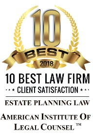 10 Best Law Firms 2018 Client Satisfaction American Institute of Family Legal Counsel Attorneys Estate Planning Law