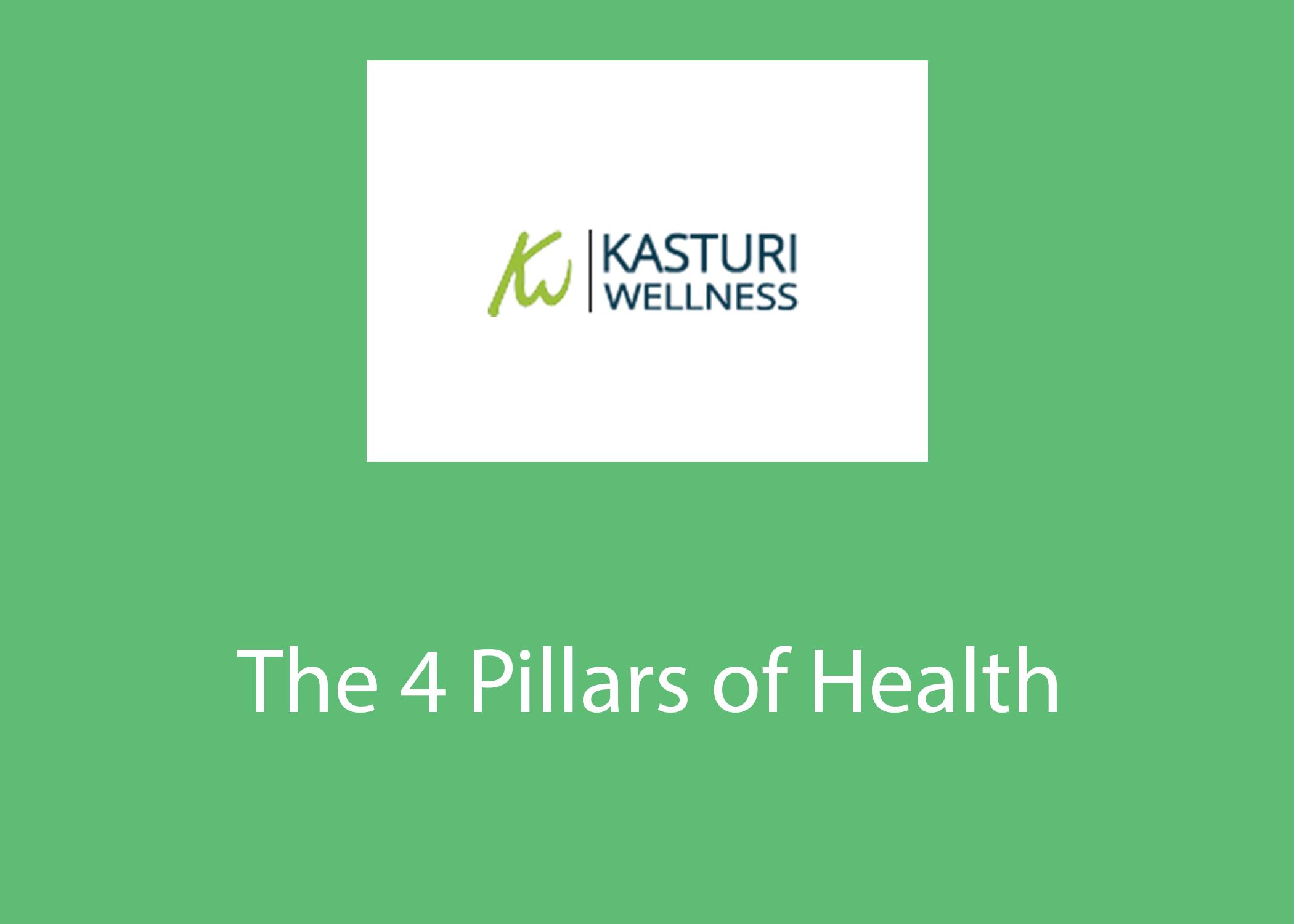 The 4 Pillars of Health | Kasturi Wellness Podcast