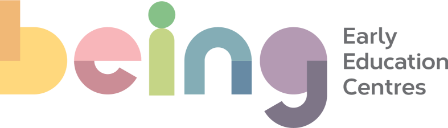 being early education centres  Logo