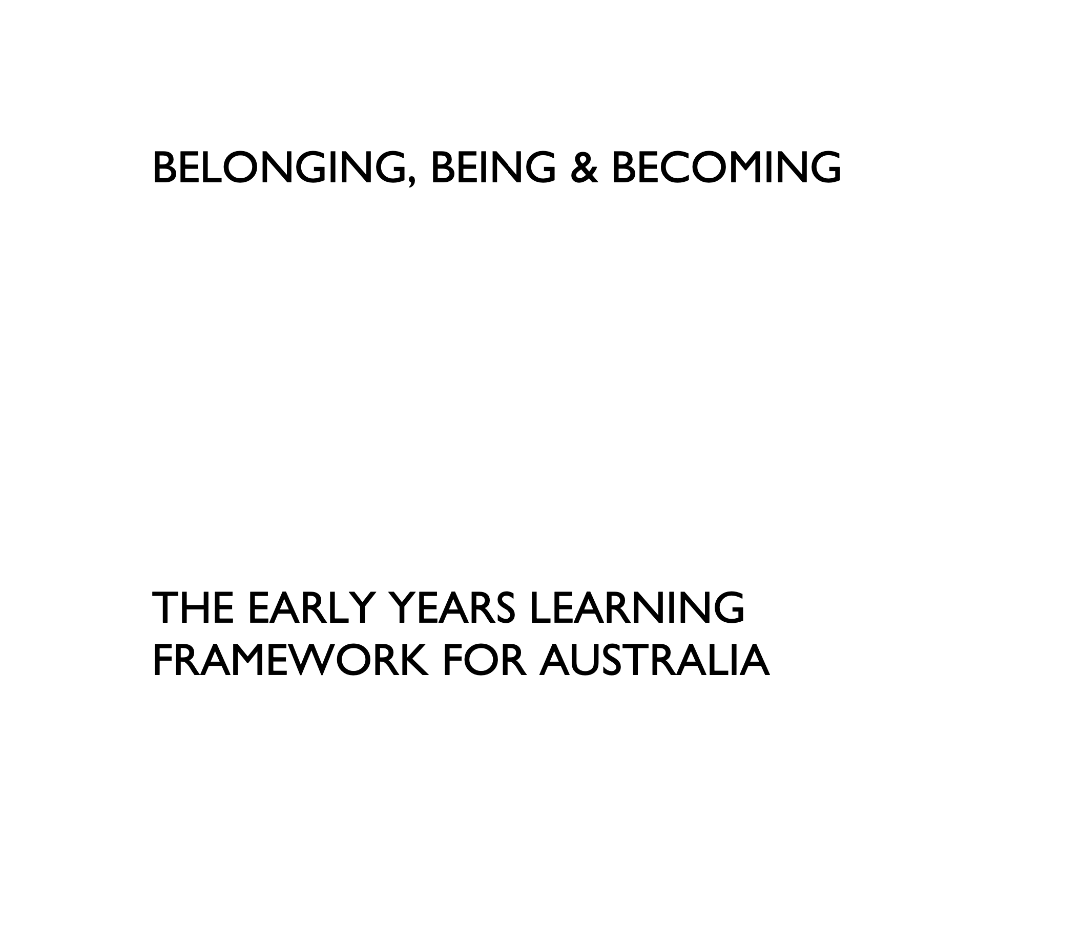 Being, Belonging, Becoming screenshot