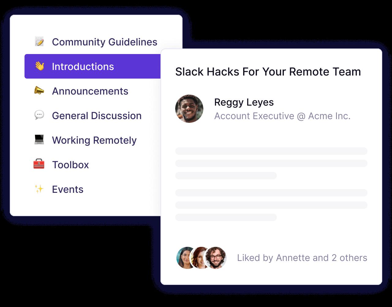 product-community