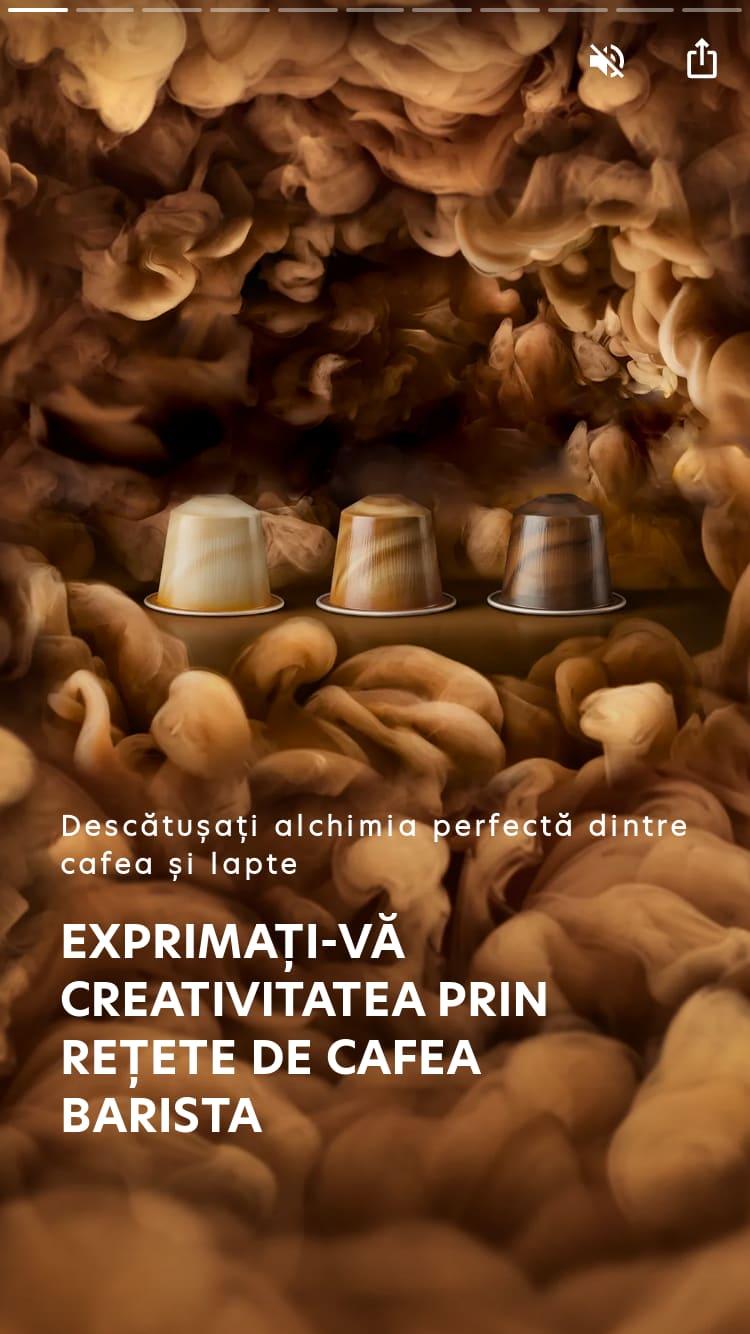 EXPRIMAȚI-VĂ CREATIVITATEA PRIN REȚETE DE CAFEA BARISTA
