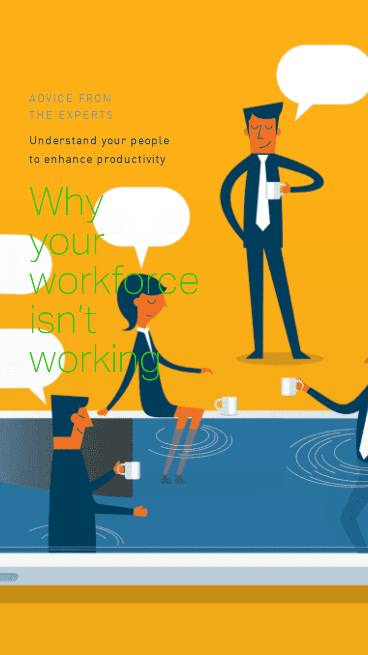 Why  your  workforce isn't working