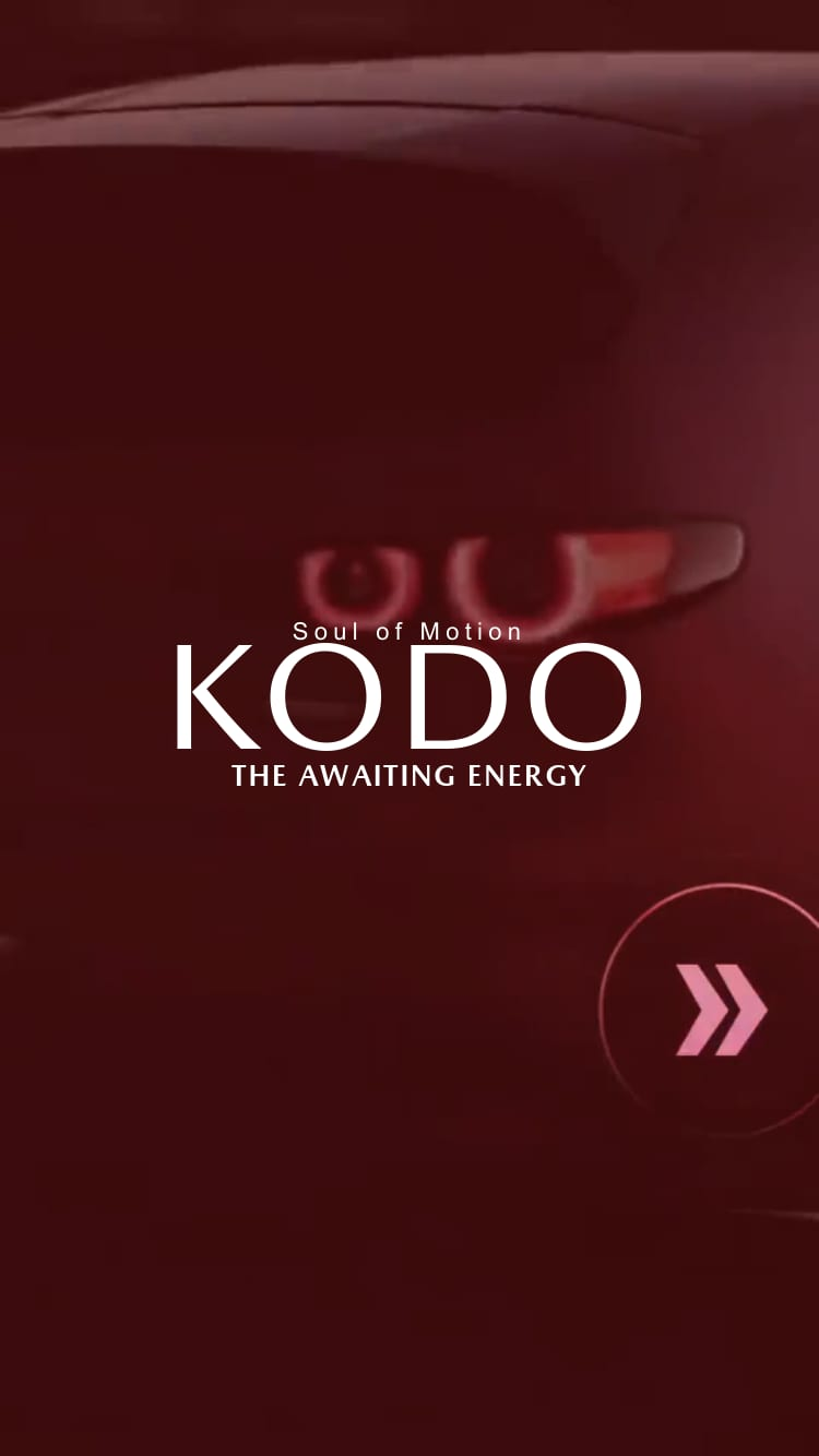 Kodo. The awaiting energy.