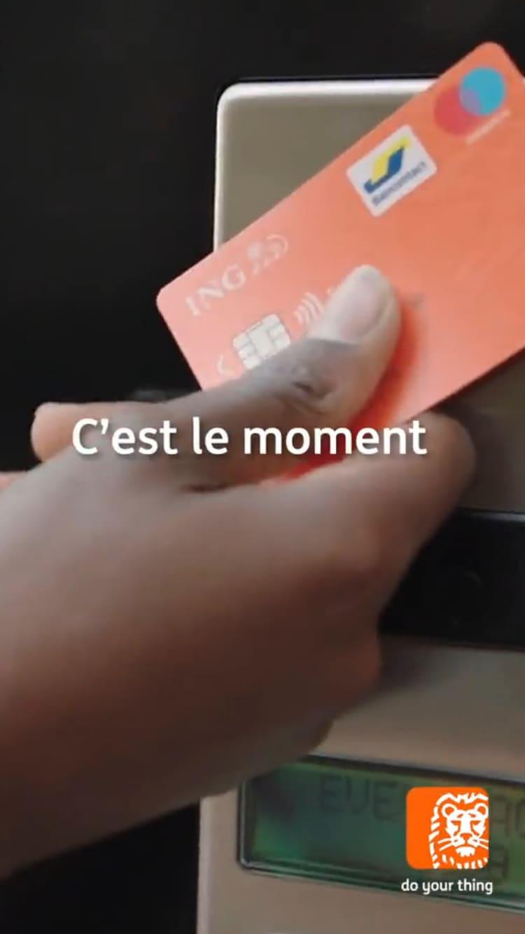 ING - Vélo + fleuriste + cinéma + c'est le moment - FR