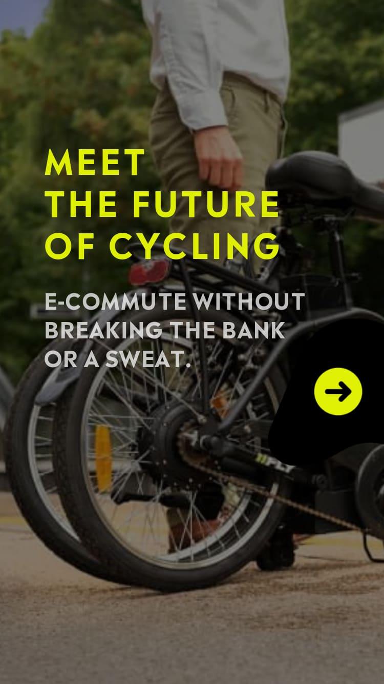 Meet The Future Of Cycling. FLY. CITY. TREKKER
