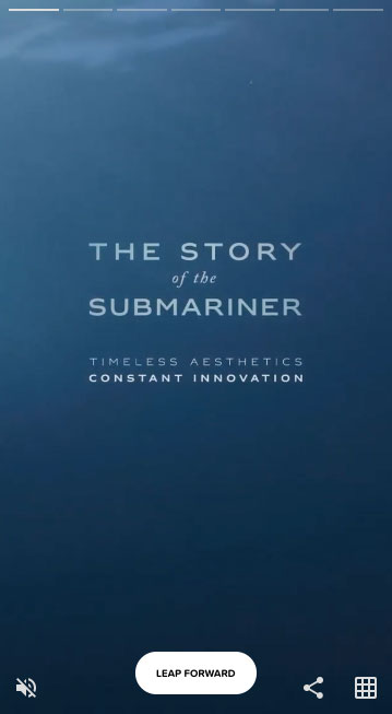 Rolex - The story of the submariner