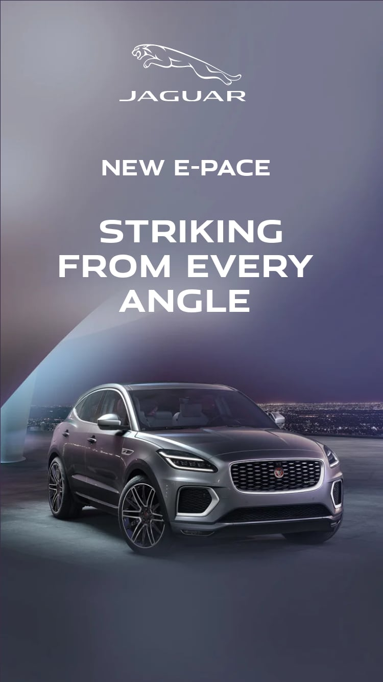 New E-PACE. Striking from every angle