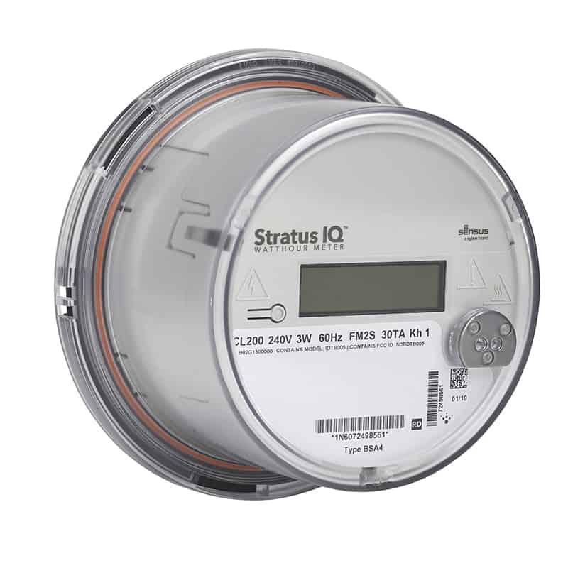 Stratus IQ smart electricity meter
