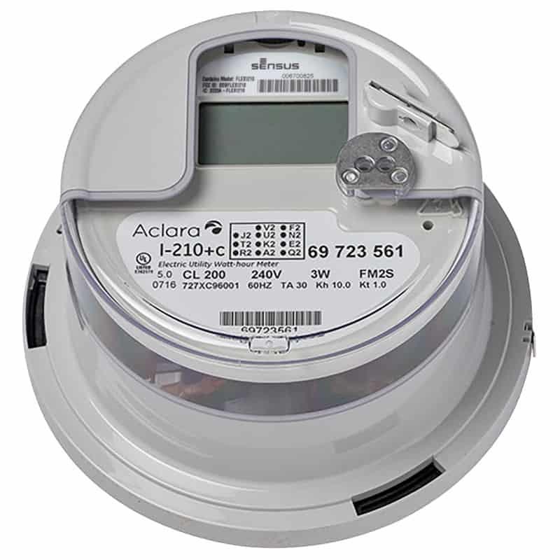 Aclara I-210+c smart electricity meter