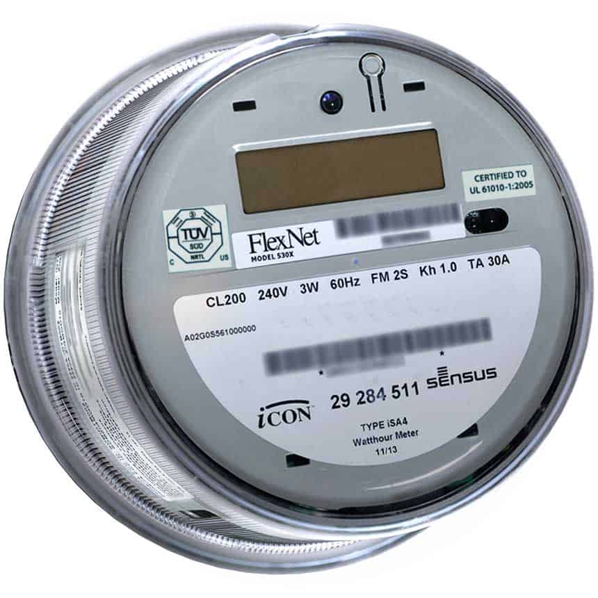 iConA Gen 4 residential electricity meter