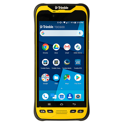 Trimble TDC600 handheld smartphone and GNSS receiver