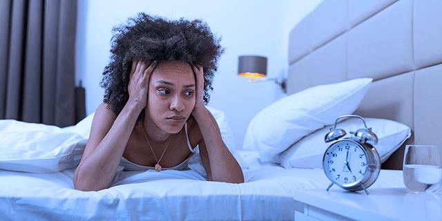 low blood sugar sleep