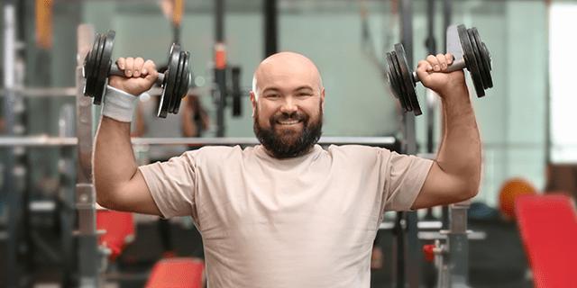 weight lifting blood sugar