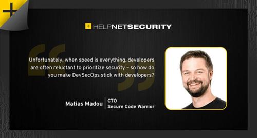 Matias Madou, CTO @ Secure Code Warrior