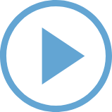 blue Play Button Icon