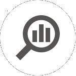 analyze and pivot icon