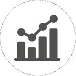 trend analysis icon