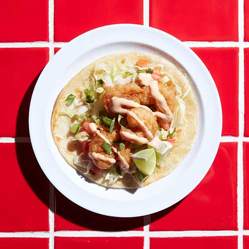 Tempura Shrimp Taco