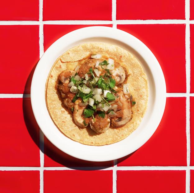 Mushroom Taco