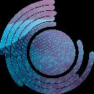 Data+ Factsheet circular shaped icon