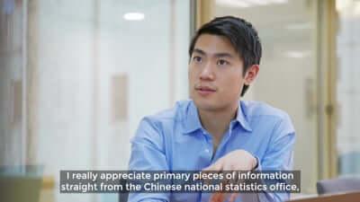 Availability of China data