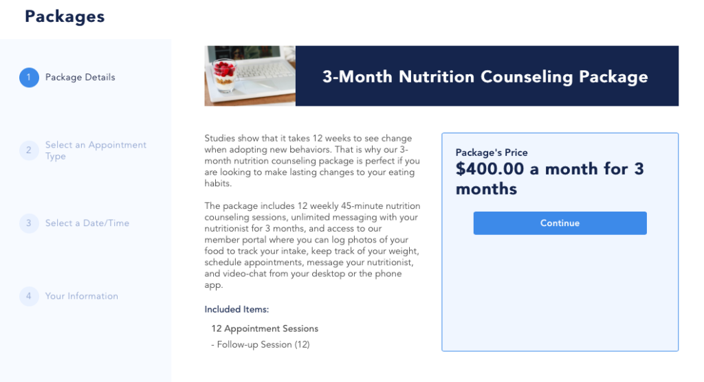 Client Packages: Examples for Your Private Practice