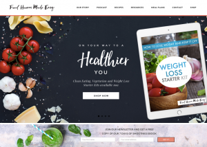 4 Tips For Building Your Nutrition Website