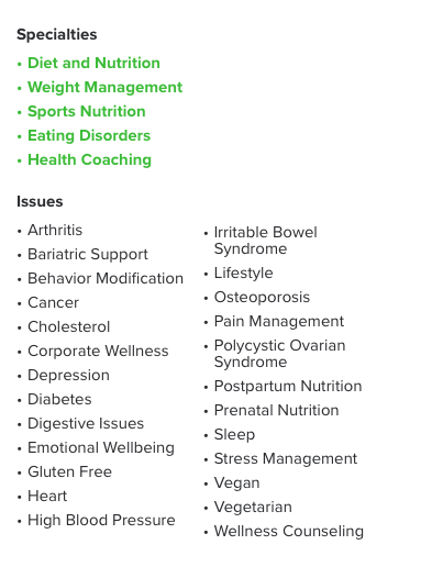 The Dietitian's Guide to a Compelling HealthProfs Profile