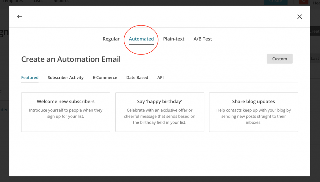 Guide To MailChimp For Nutrition Professionals