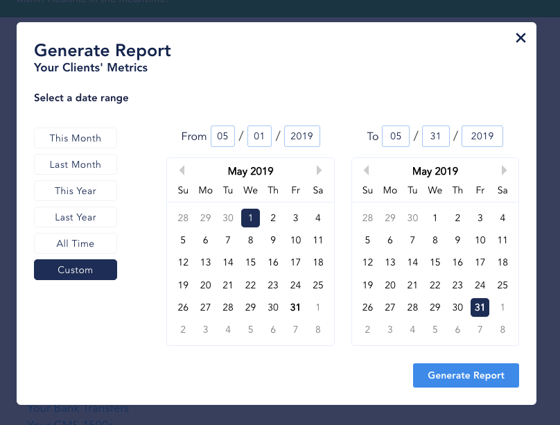 Gain Insights into Your Nutrition Practice with Reports