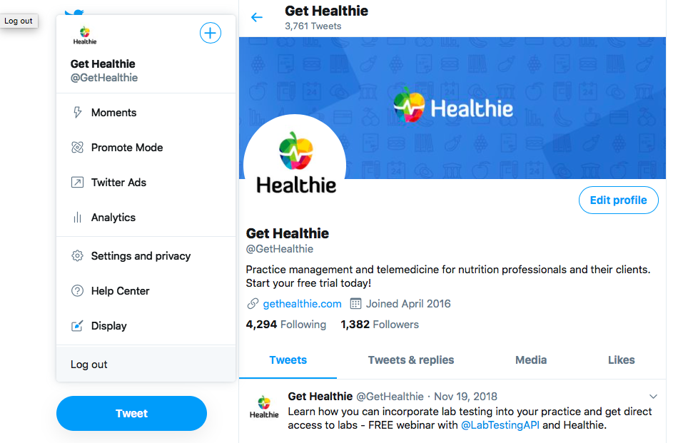 Twitter for Dietitians: Grow Your Social Media Presence