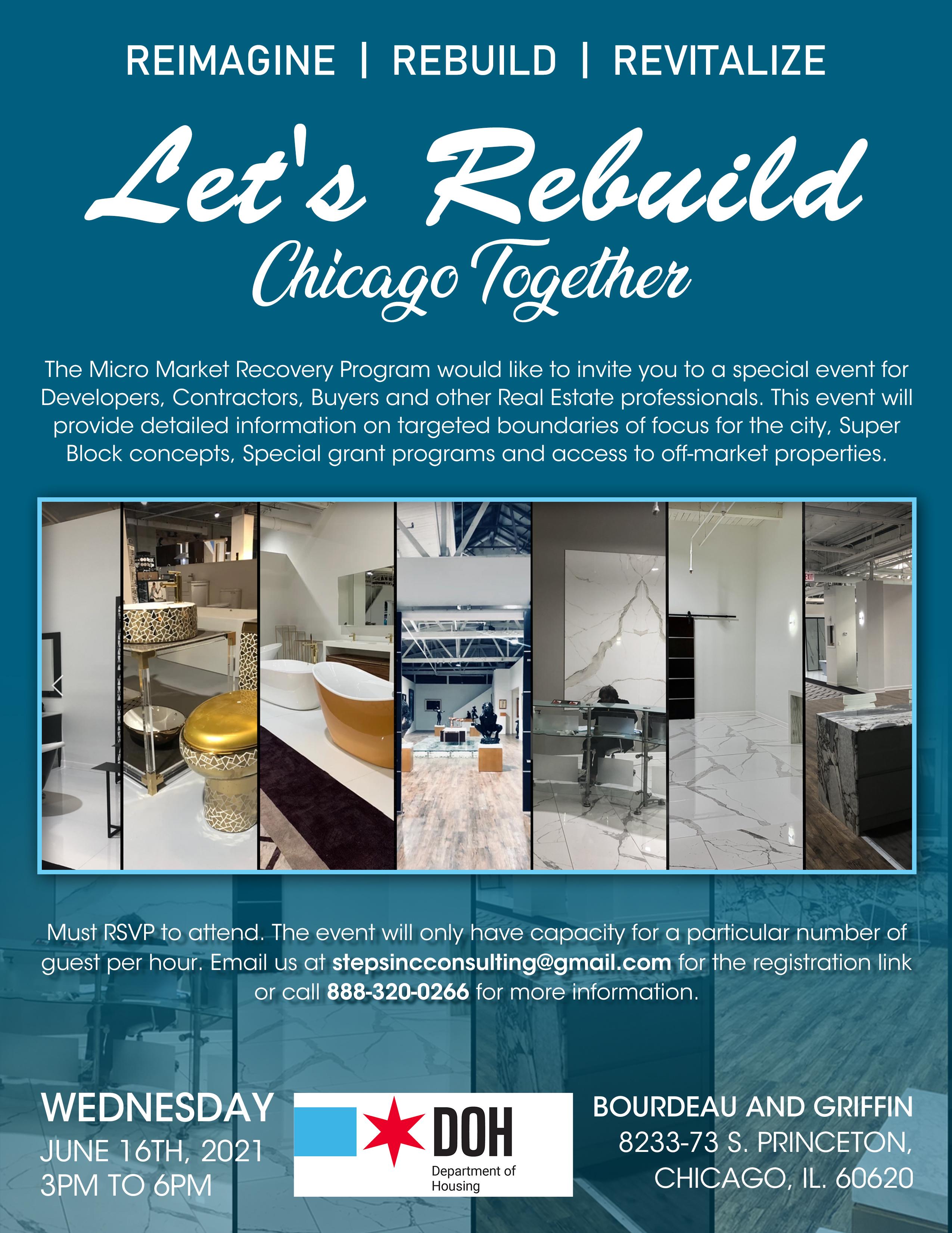 Let's Rebuild Chicago Together