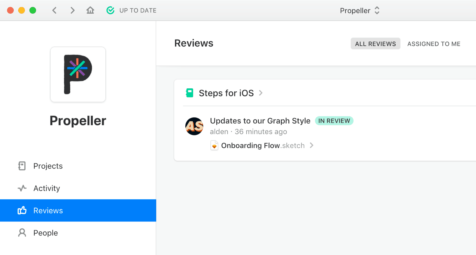 Review Requests - Stakeholder Overview