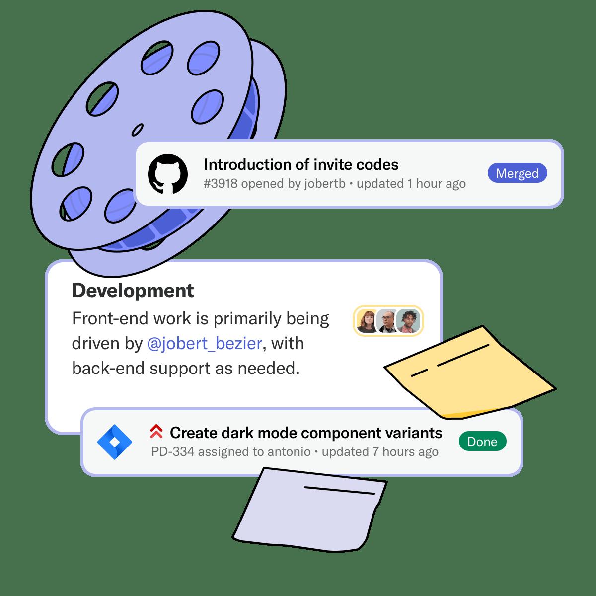 Notebooks integrations UI