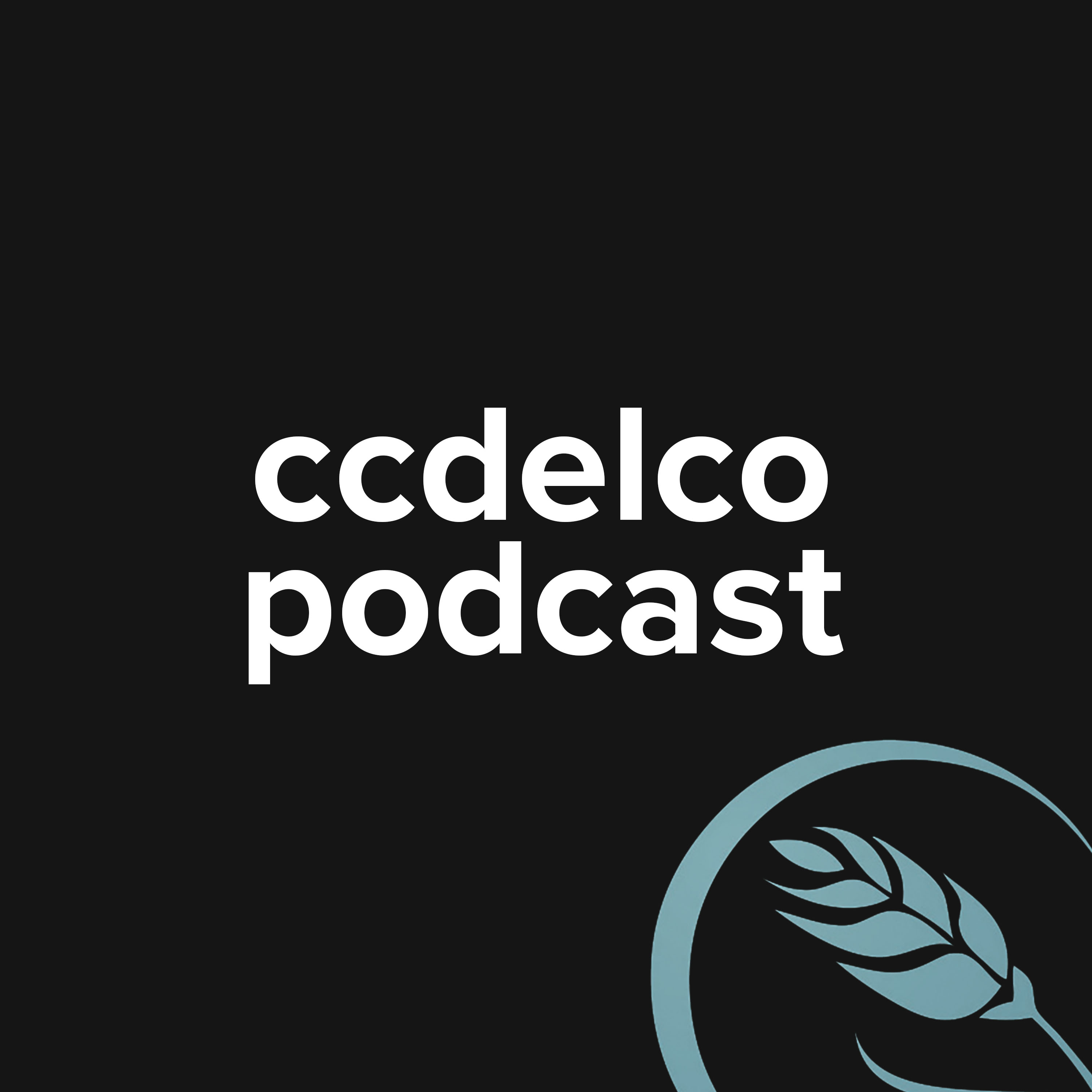 A profile picture of the ccdelco podcast platform.