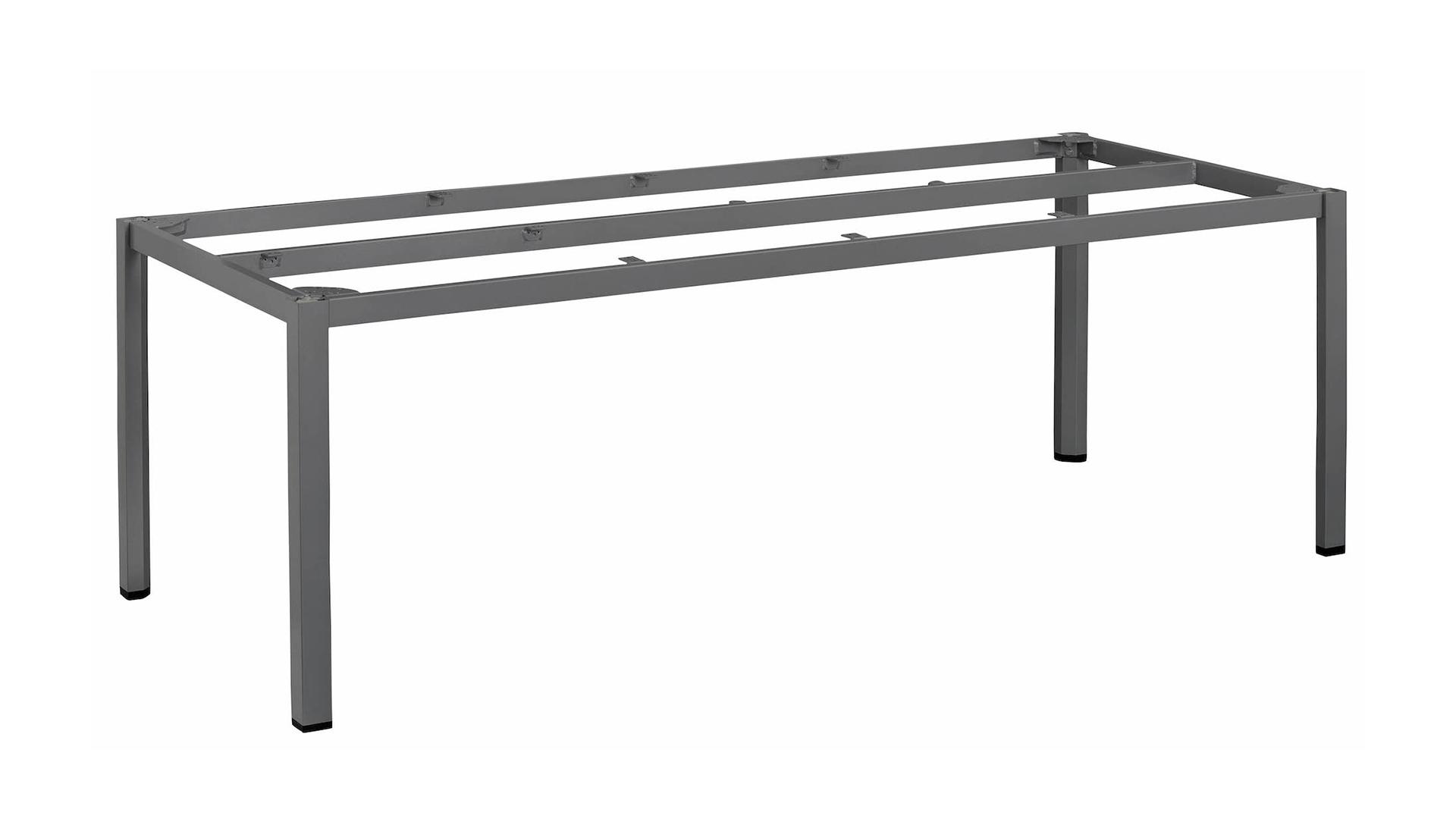 CUBIC Aluminium Tischgestell 220 x 95 x 72 cm