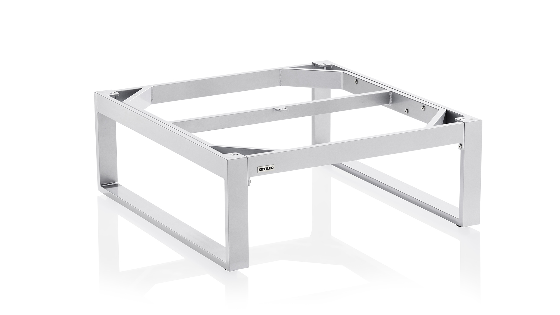 EGO Lounge Tischgestell 95 x 95 cm