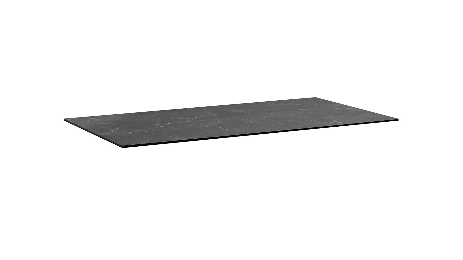 HPL Tischplatte 140 x 70 x 1,3 cm, Wing-Profil