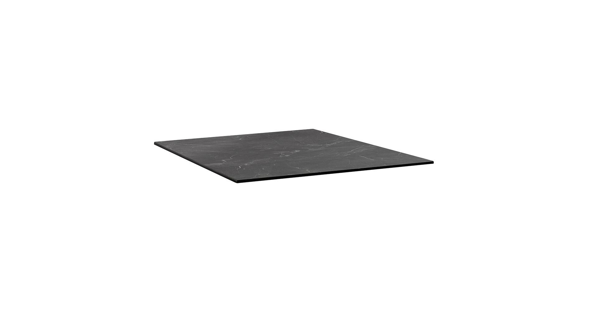 HPL Tischplatte 95 x 95 x 1,3 cm, Wing-Profil