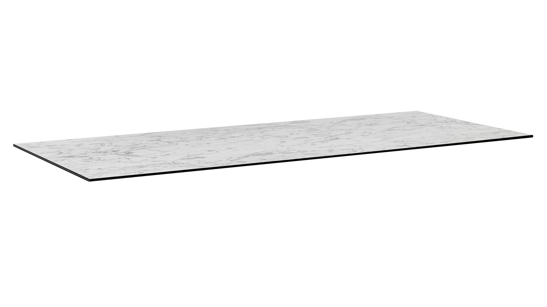 HPL Tischplatte 220 x 95 x1,3 cm, Wing-Profil