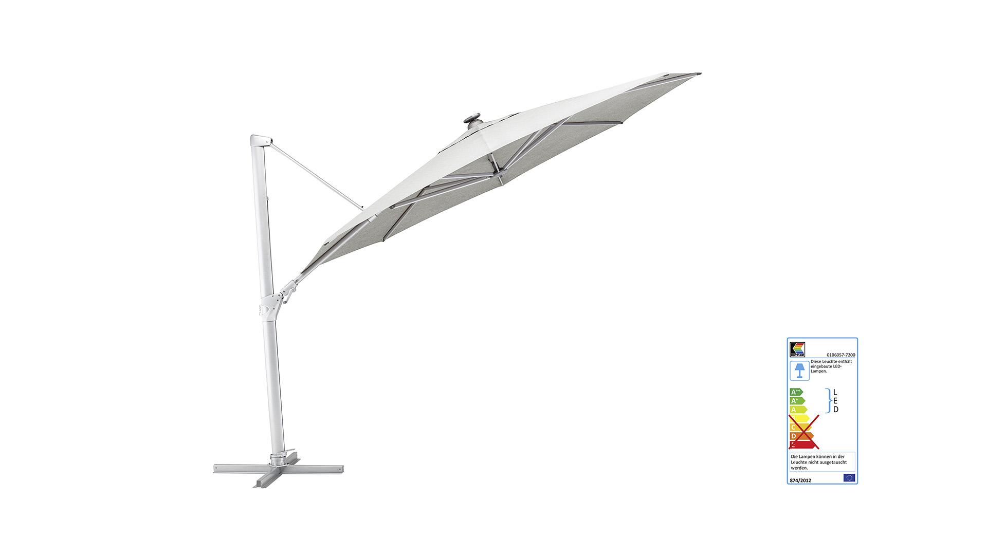 EASY SWING LED Ampelschirm Ø 350 cm
