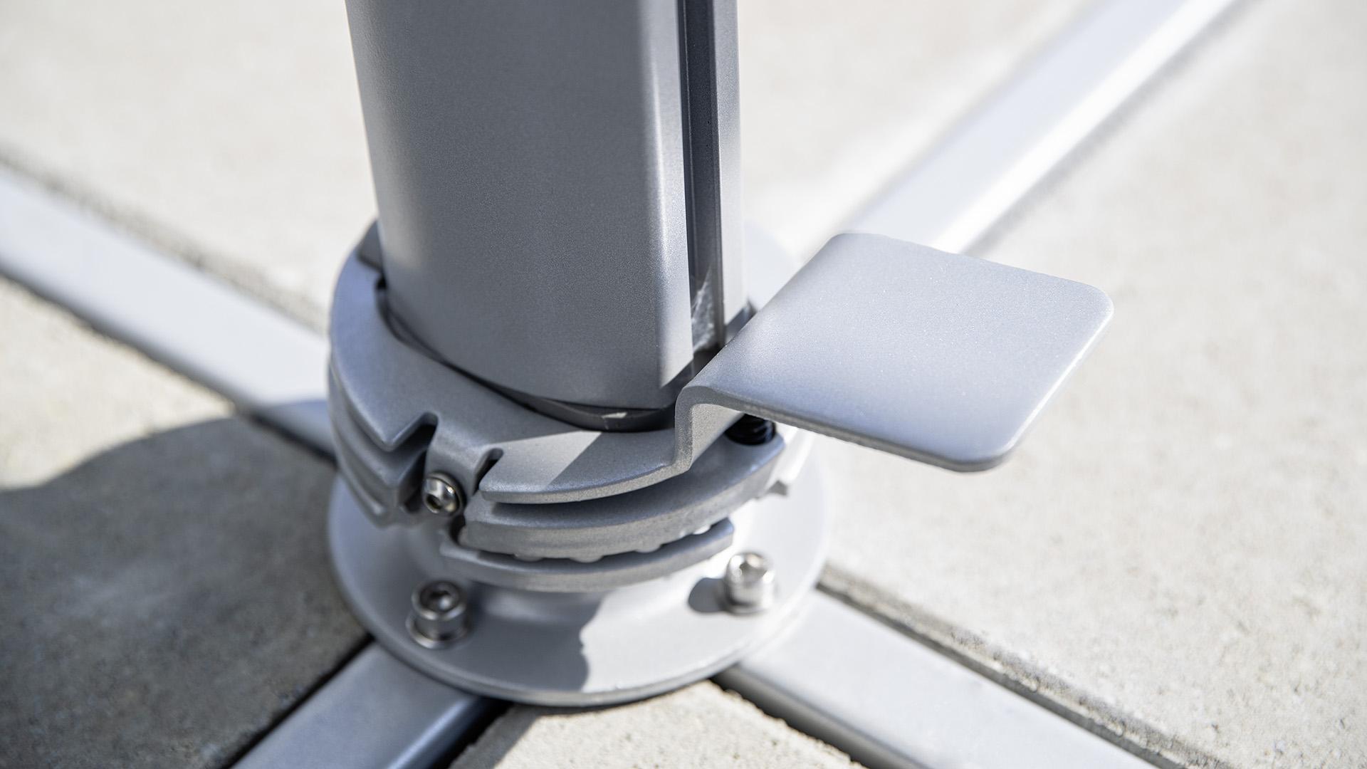 EASY TURN Ampelschirm Ø 330 cm