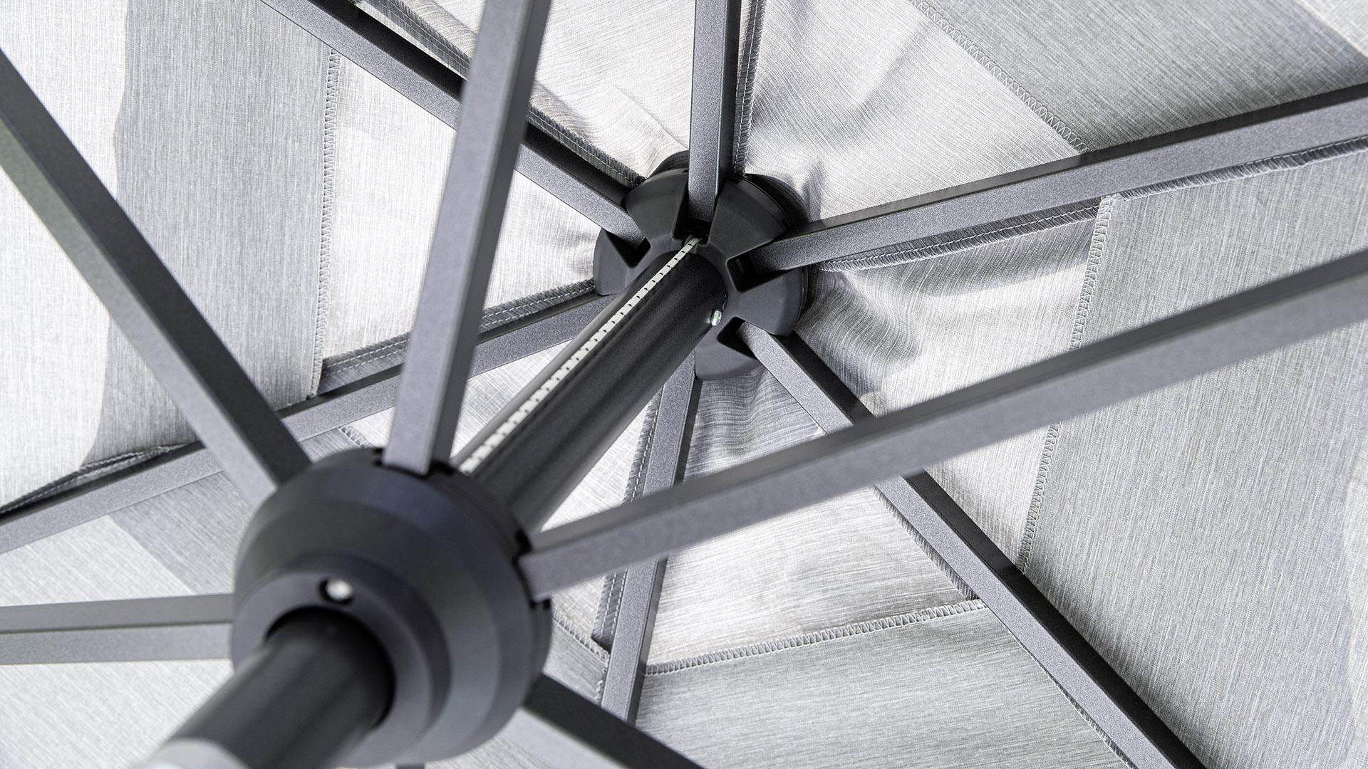 EASY ALLROUND Kurbelschirm Ø 270 cm